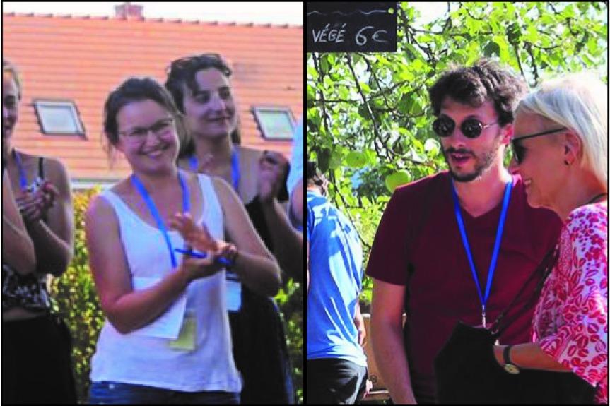 Alexandre Slyper et Juliette Rambaud –Administration