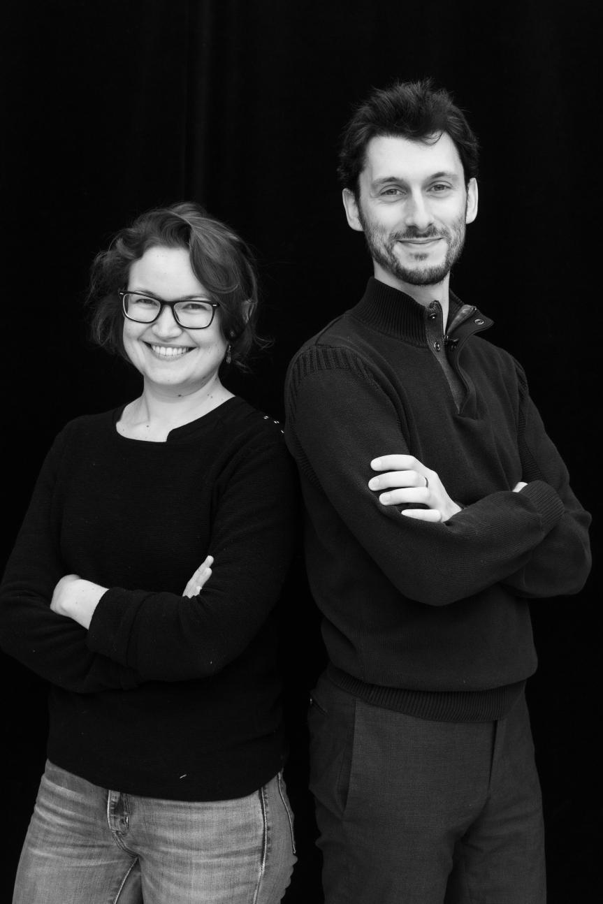 Alexandre Slyper et JulietteRambaud